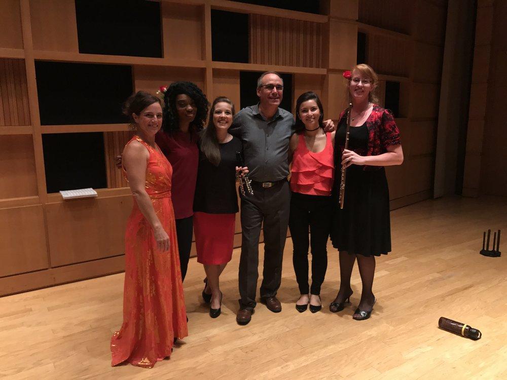 International Flute Symposium Gala Concerto 2017 with Alberto Almarza and Nina Assimakopoulos