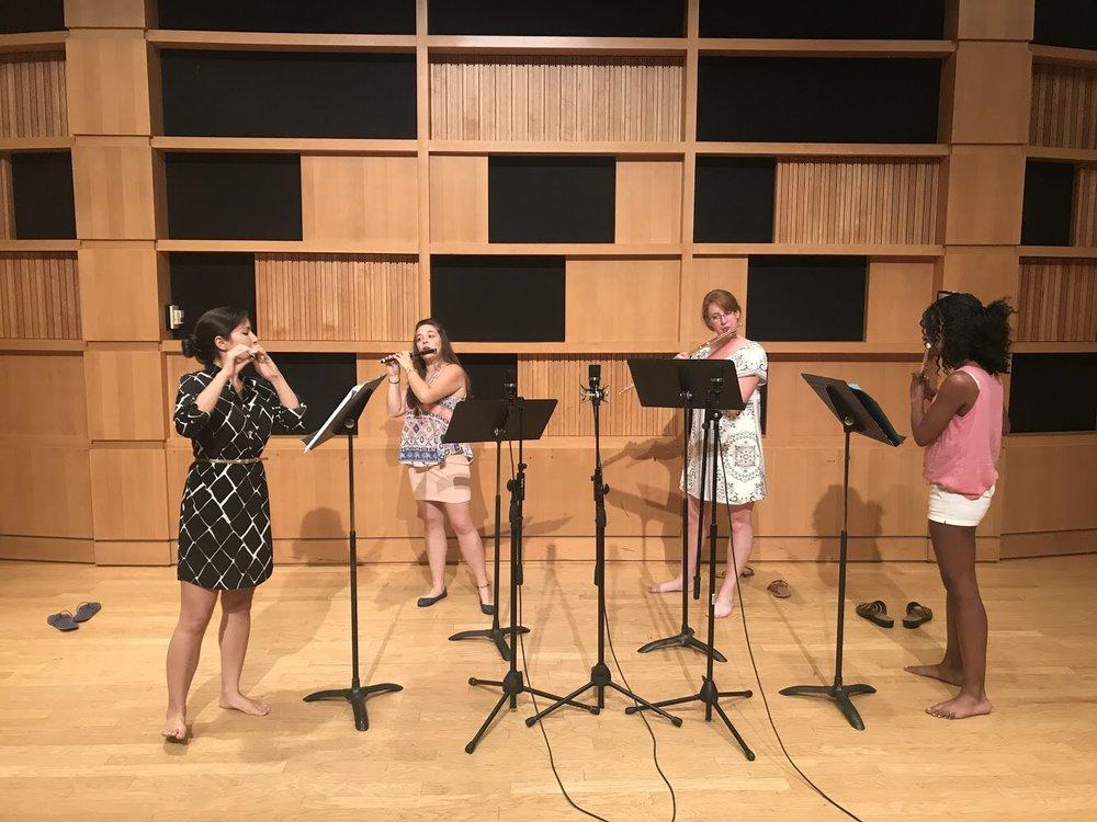 "Recording session ""Aqua & Ventus"" by Anze Rozman (Morgantown, WV)"