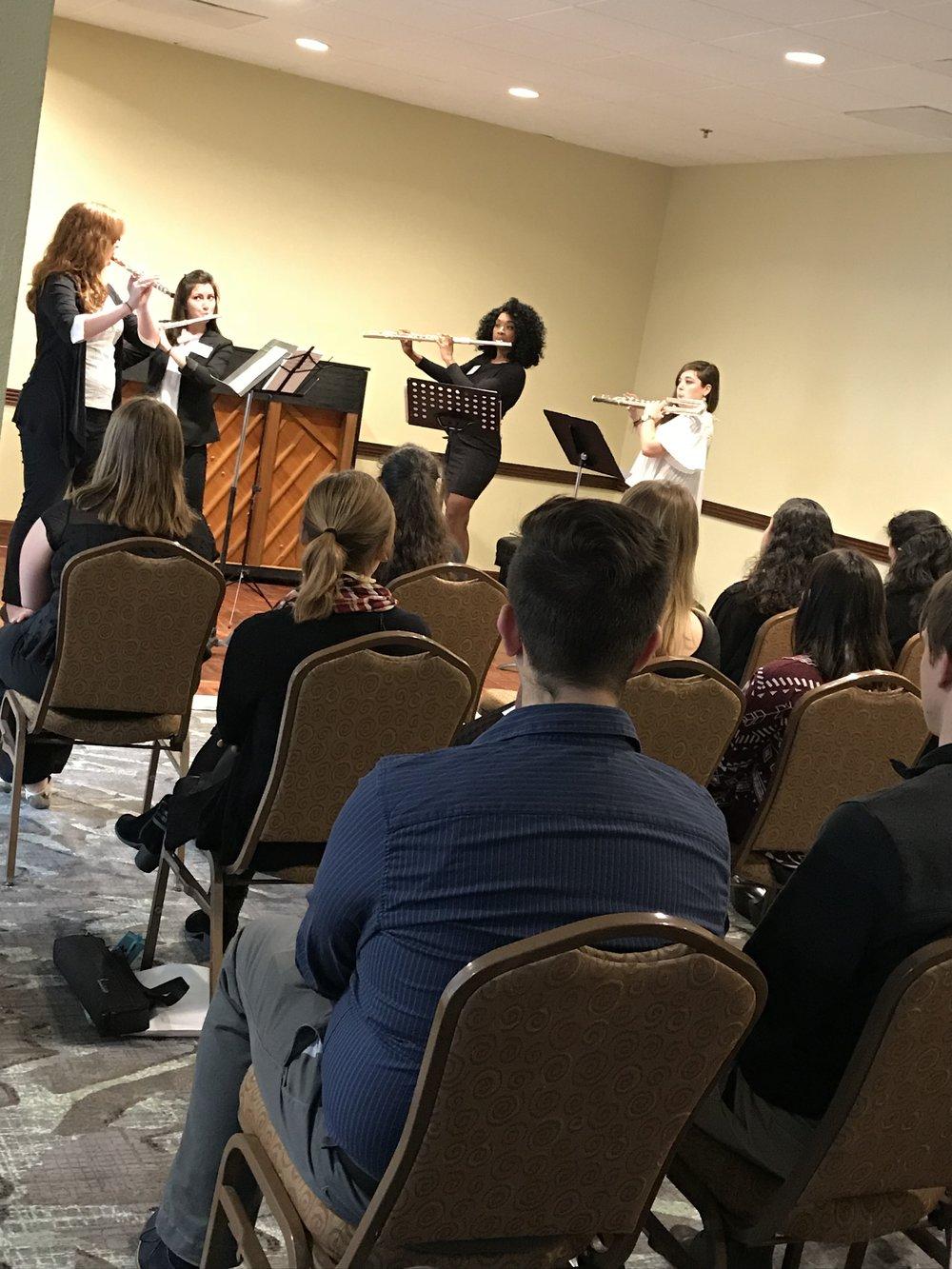 Recital at the 2018 Florida Flute Association Convention