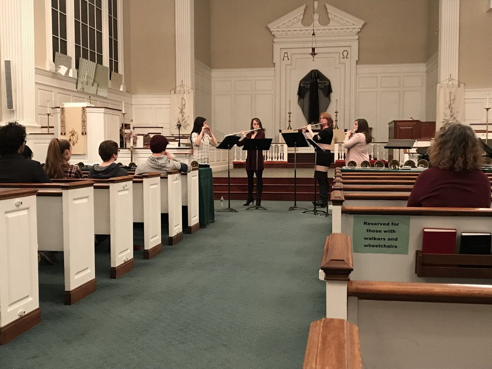 Performance for the Harrisburg Symphony Youth Orchestra