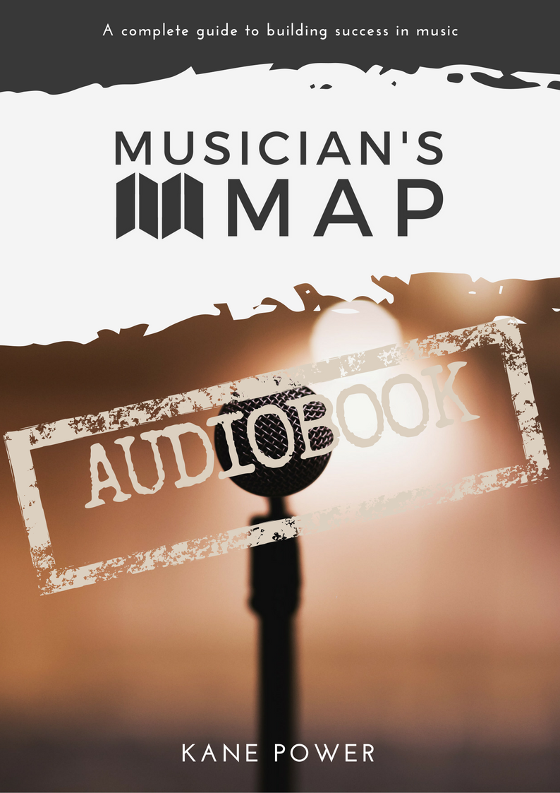 Musician's map Audiobook Complete Guide To Success In Music