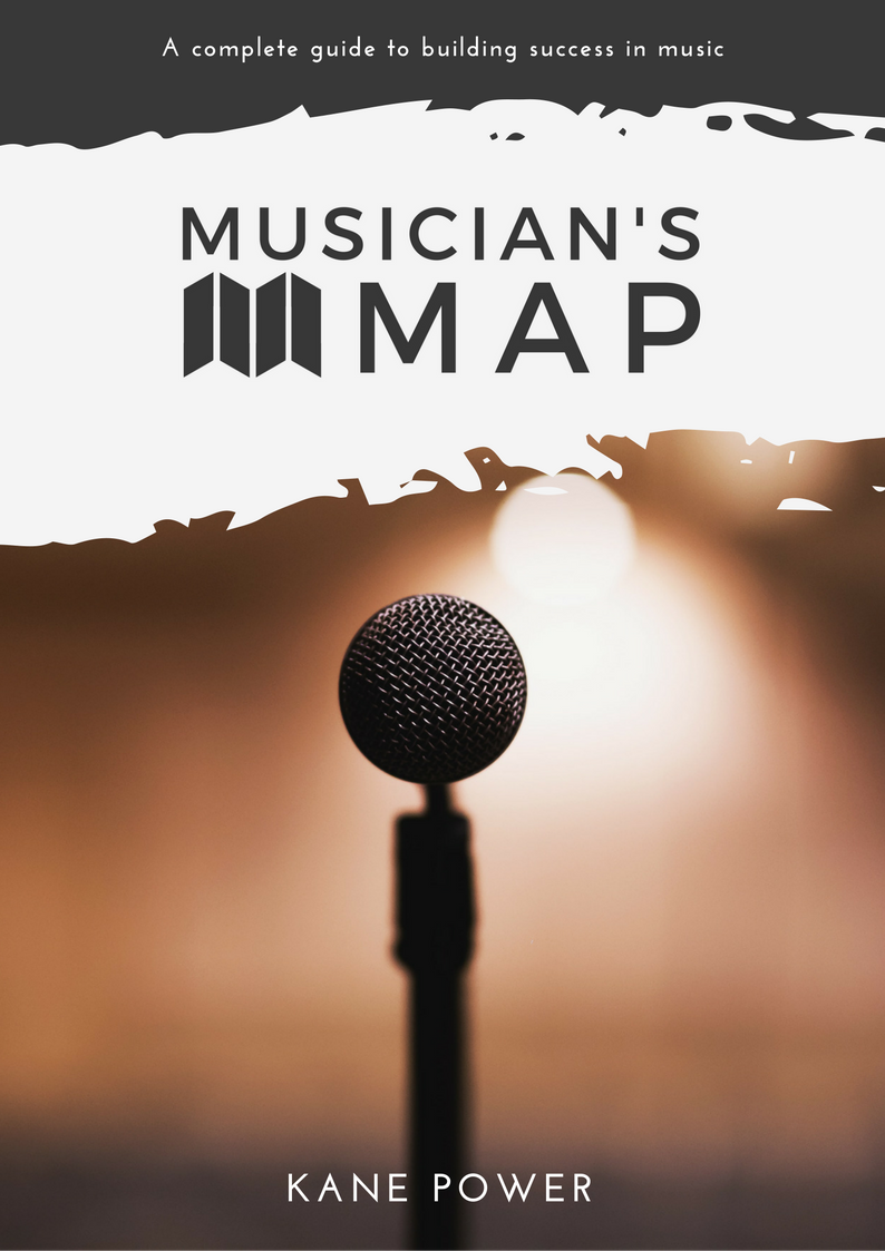 Musician's Map eBook Guide to building success in music