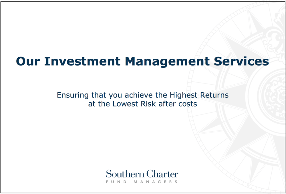 Investment (Fund) Management Services