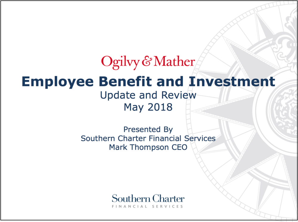 Ogilvy Employee Benefit and Investment Update