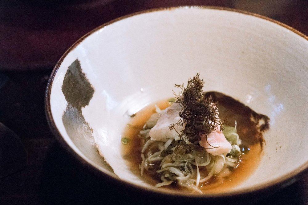 03. - Cabbage, cod chin &sea-truffle