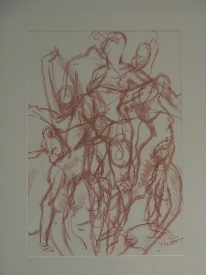 nude, female, movement