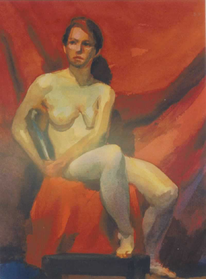 nude, female