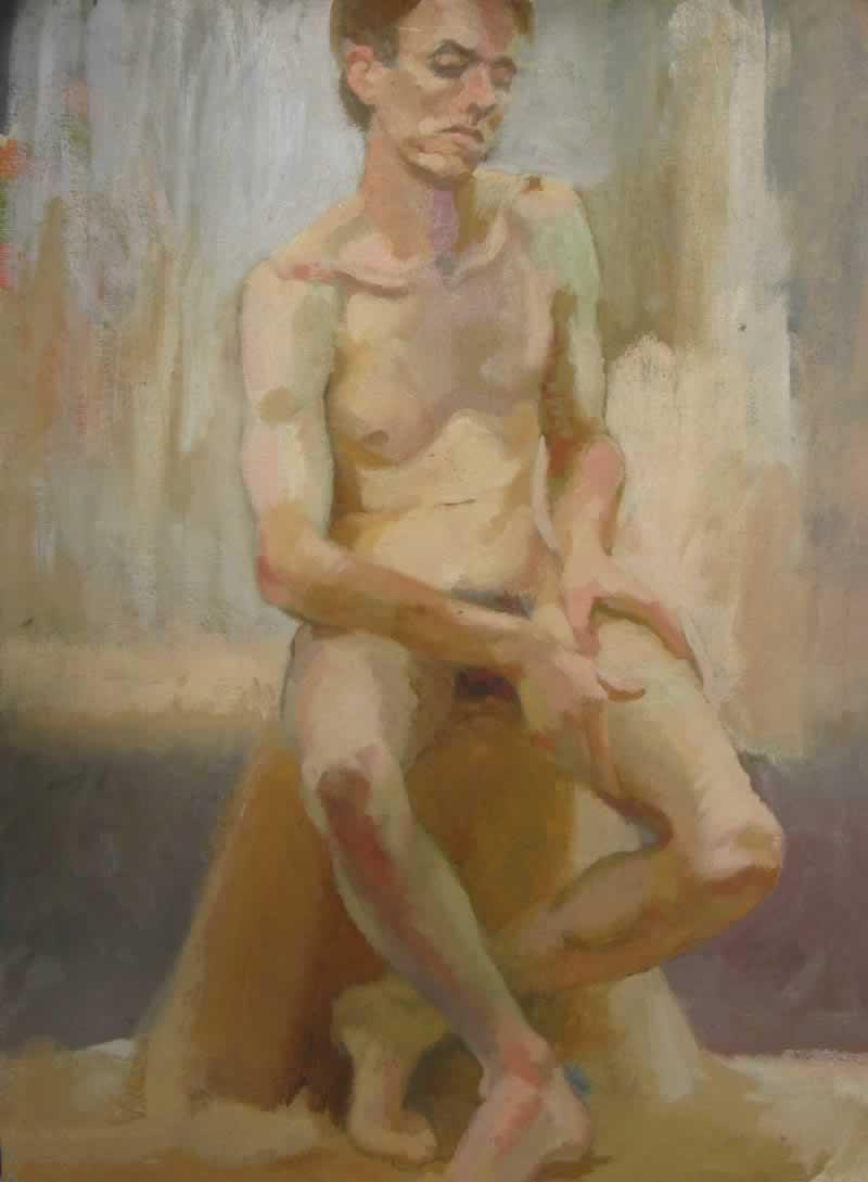 nude, male