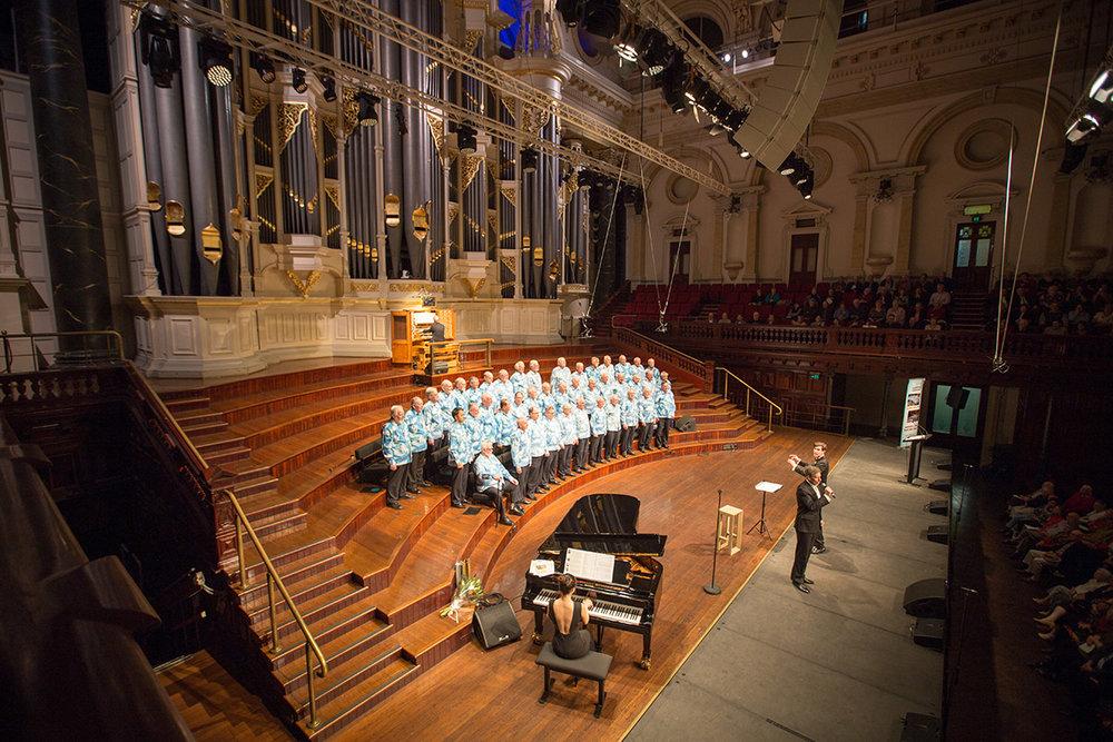 Town Hall Concert Sydney Male Choir