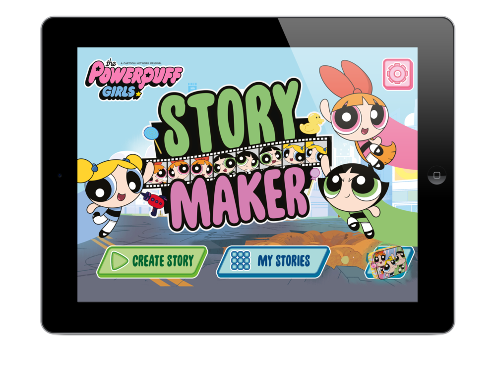 The Powerpuff Girls Story Maker - Client: Turner Broadcasting System Europe Limited
