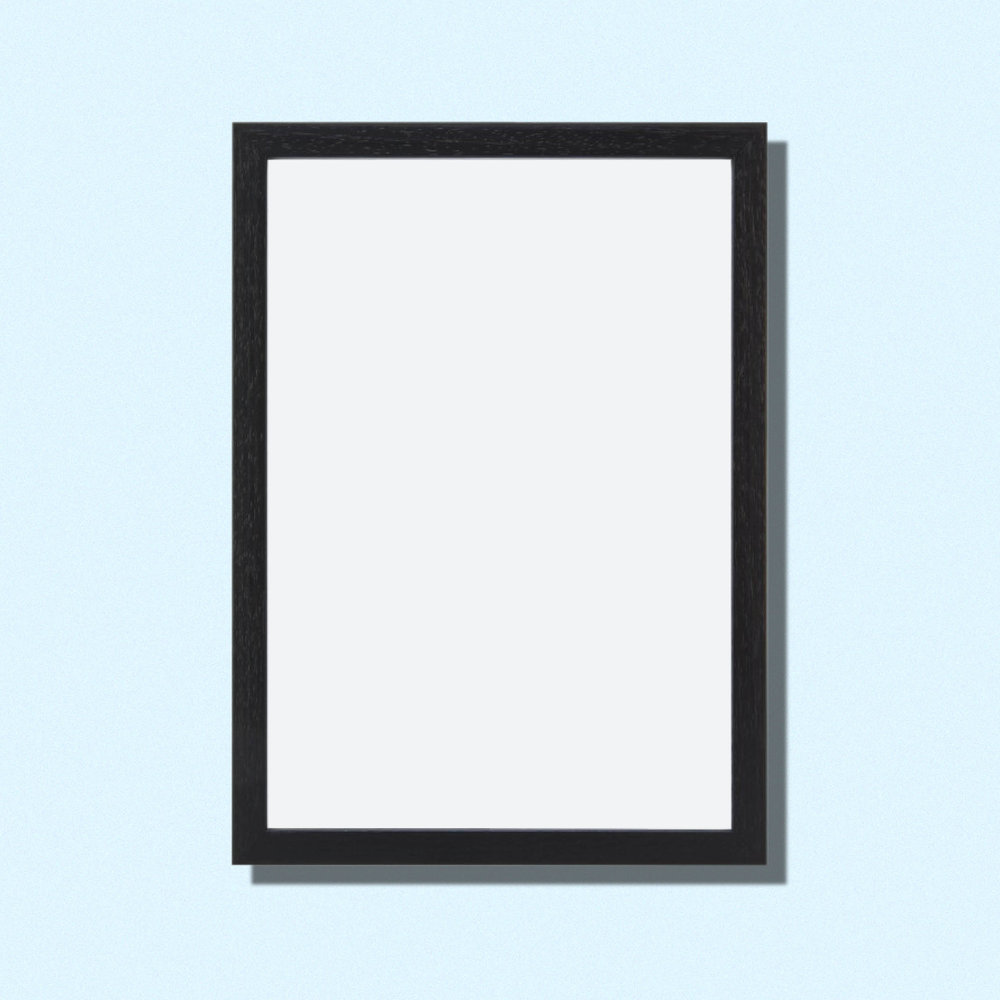 Frame 40x50 Cm   Black Wood