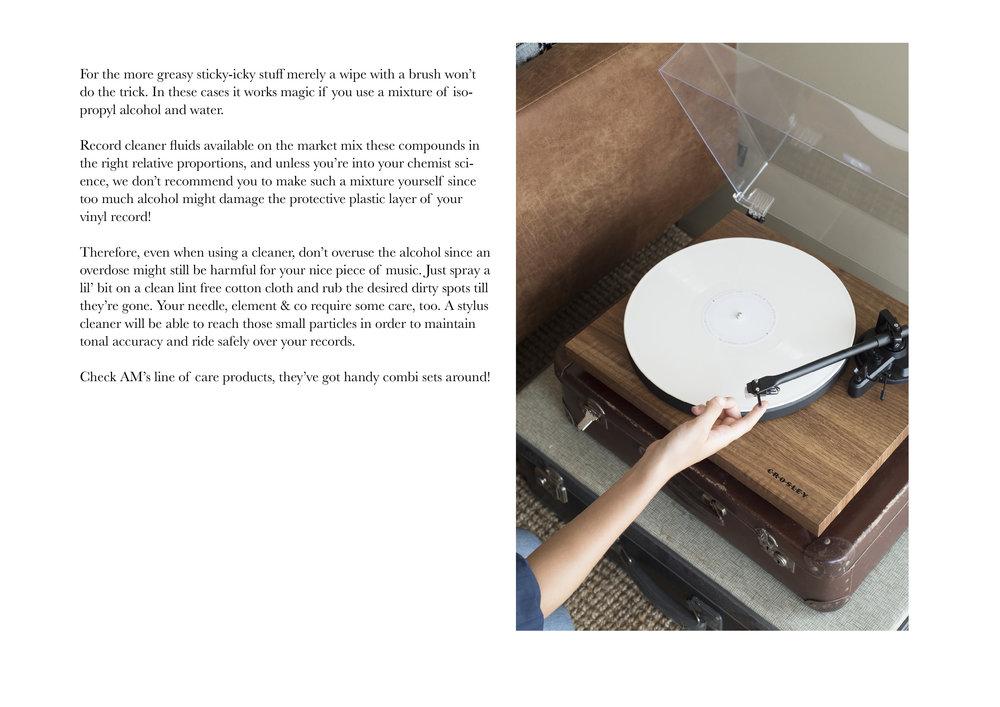 Cleaning vinyl | Swordfish & Friend