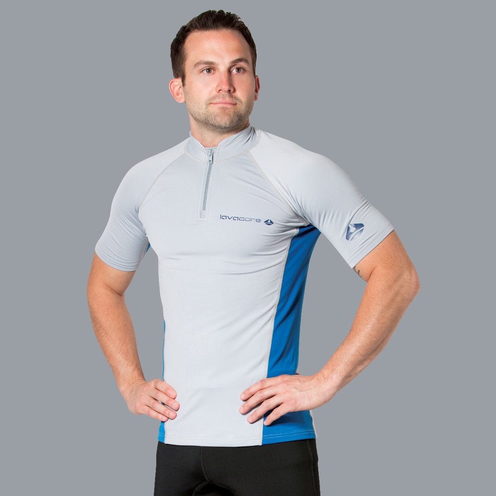LAVASKIN SHORT-SLEEVE SHIRT    ( additional colors available )