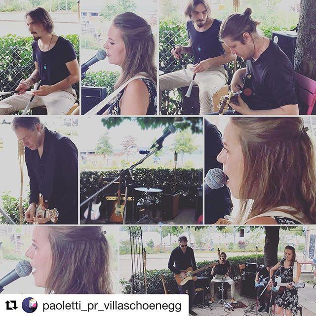 ❤️#paoletti_pr_villaschoenegg! #lakezurich #summer #sun #live #singingunderatree