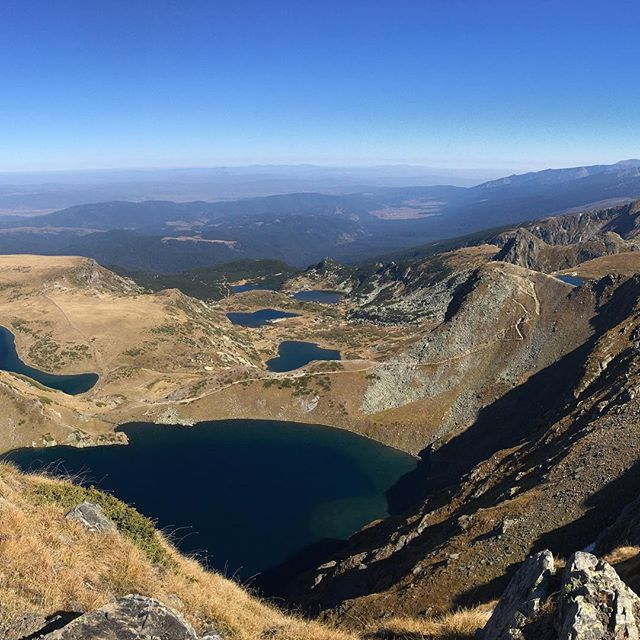 #nofilterneeded #beautyofbulgaria #hiking #autumn #sun #lake