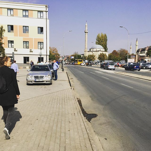 #pristina #balkan #autumn #off #city #trip #walking #lovely #kosovo pics by @bol_i