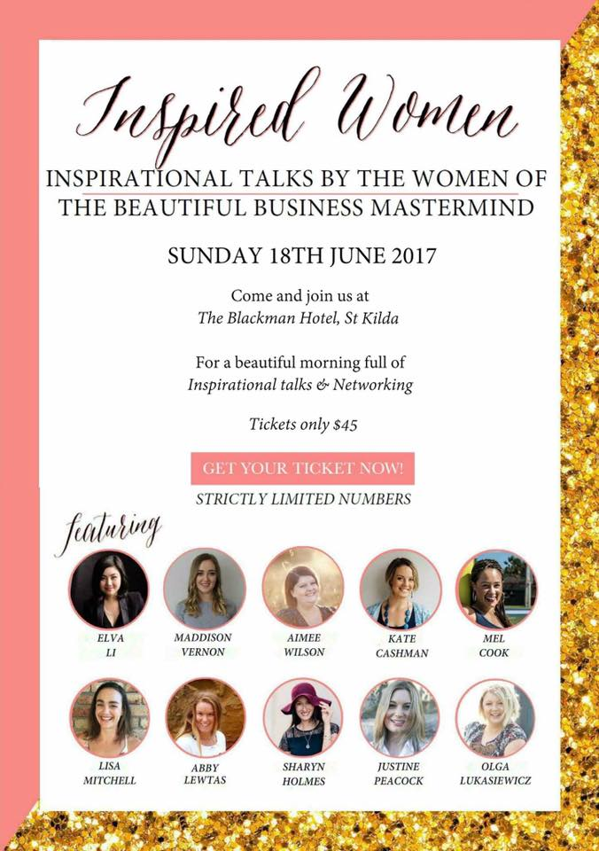Inspired Women Talks:Speaker -