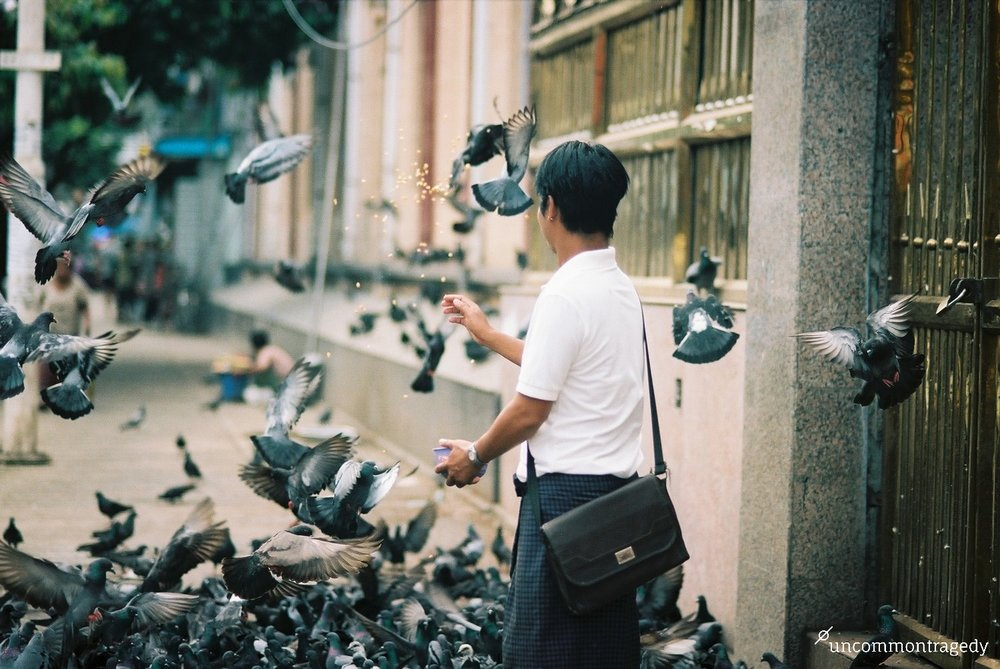 Myanmar, Portra 160, Nikon F3, Nikkor 85 1.8