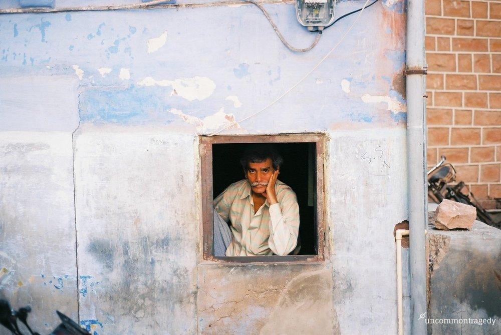 Jodhpur, Rajasthan,India. Nikon F3,Kodak Ektar.