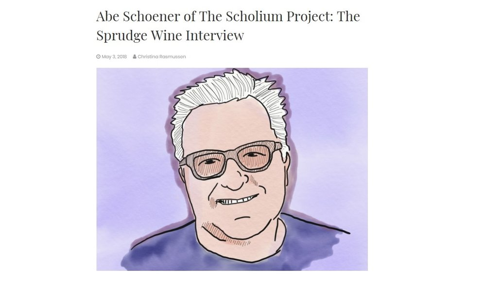 Abe Schoener of the Scholium Project