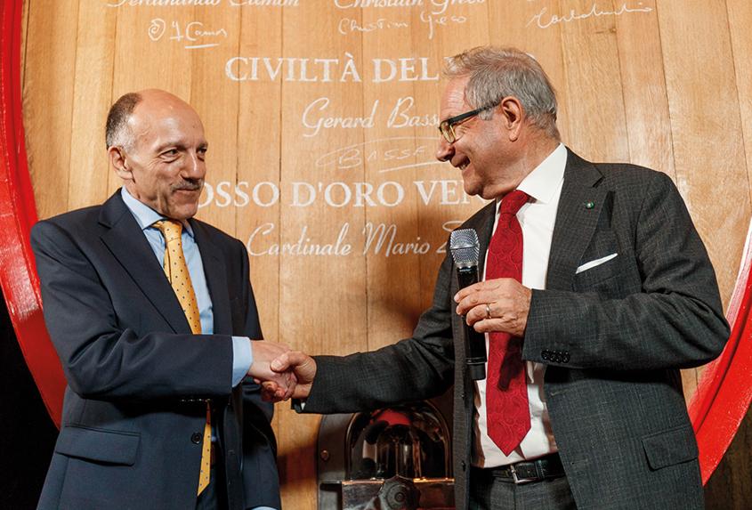 Gérard and Sandro Boscaini of Masi
