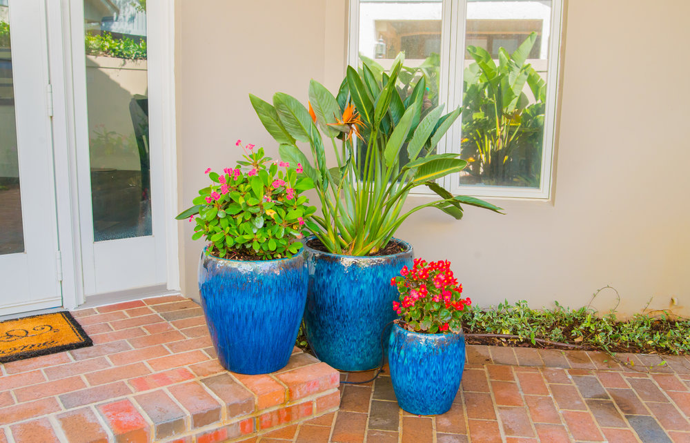 Terracon specializes in flower pot installations.