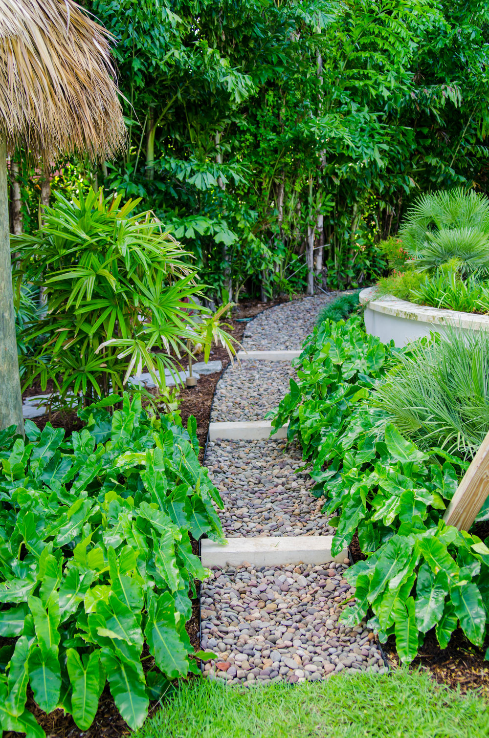 Terracon's Landscape crews specialize in building custom pathways.