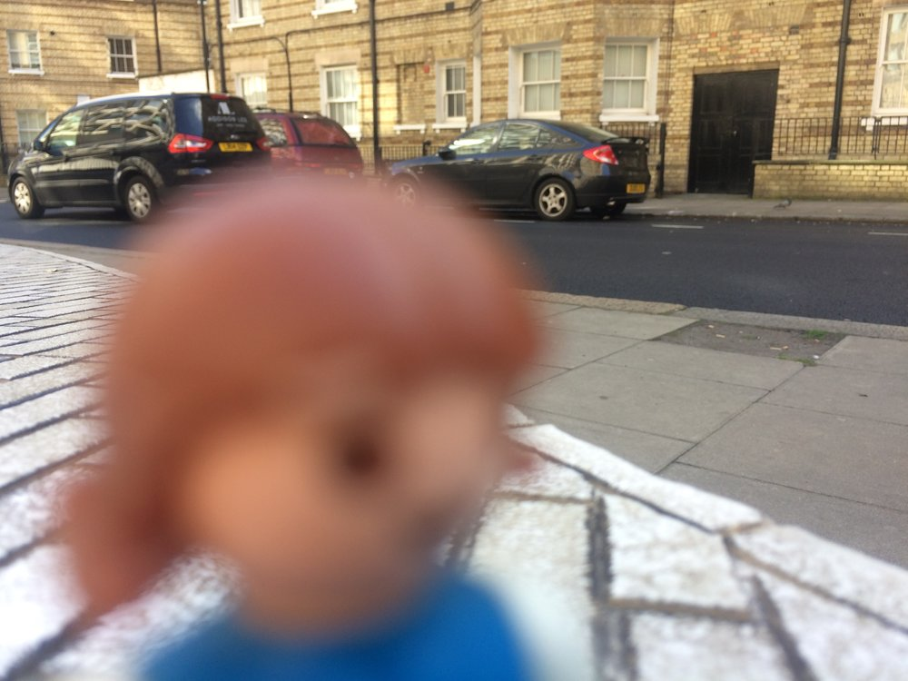Scarface, spotted outside City Lit