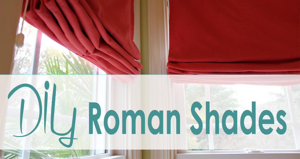 diy roman shades from casa bouquet