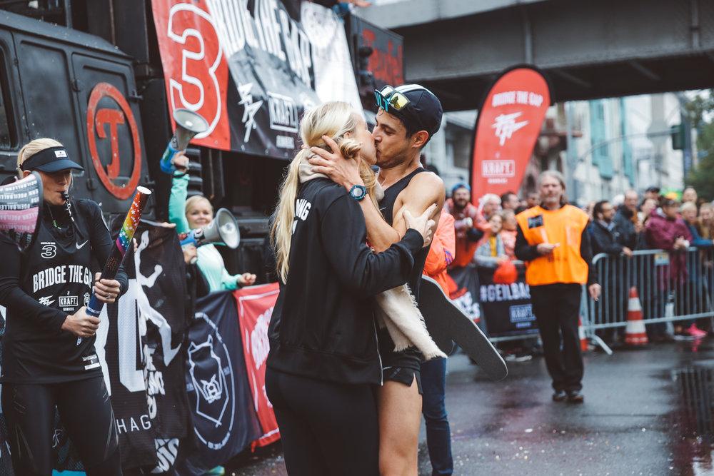 Emotional pit stop, Björn (2:42:15)