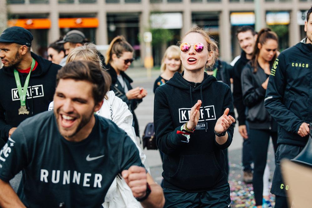 KRAFT Support beim Berlin Halbmarathon 2017