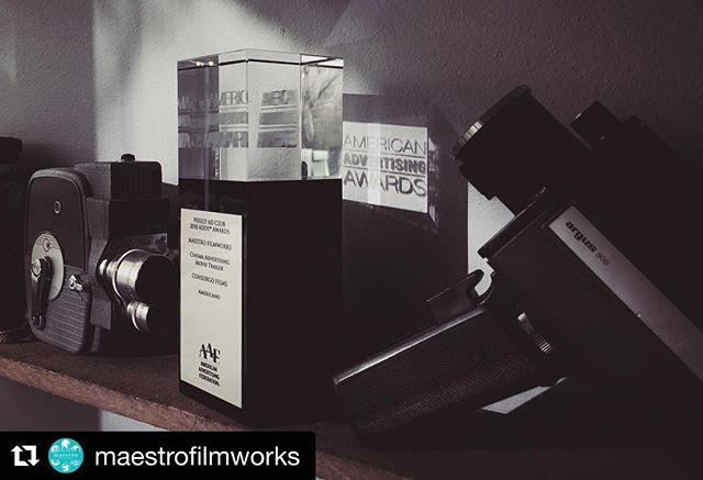 Super excited to share this! #Repost @maestrofilmworks ・・・ Happy to announce that we took home some hardware at the Addy's last week with a Silver Addy for the @americanofilm trailer. Grateful to be recognized amongst a lot of great company and submissions. Thanks to the @phillyadclub for a great event! #AmericanoFilm, Directed by Tim Viola (@tviola) and trailer cut by Alex Flores (@a_f_l_o). #maestrofilmworks #consurgofilms