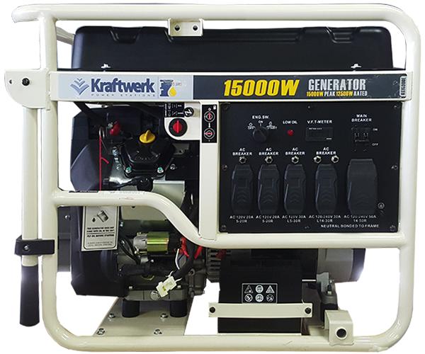 15,000 Watts - · Gasoline Engine· Electric StartRequest Service>Request Parts>