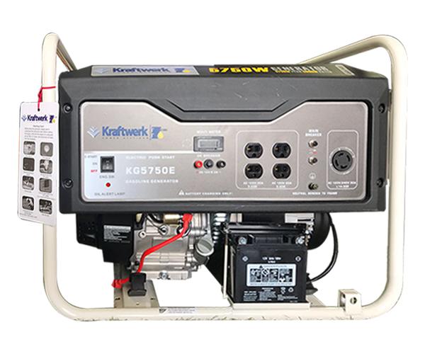 5,750 Watts - · Gasoline Engine· Electric StartRequest Service>Request Parts>