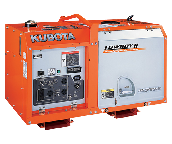 GL 7000 - · Power: 7Kw· Fuel: Diesel· Compact Design.· Easy Maintenance.· Double Circuit Protectors.· Operator Friendly.· Lower Noise Levels.Download PDF>Request Service>Request Parts>