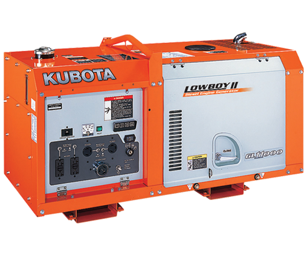 GL 11000 - · Power: 11Kw· Fuel: Diesel· Compact Design.· Easy Maintenance.· Double Circuit Protectors.· Operator Friendly.· Lower Noise Levels.Download PDF>Request Service>Request Parts>