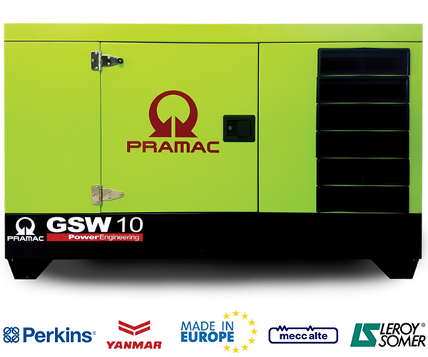 GSW Series - · Power: 10Kw to 65Kw· Fuel: Diesel· Compact Design.· Easy Maintenance.· Silent (Low Noise).· Yanmar or Perkins Engine.· Mecc Alte or Leroy Somers Alt.· Liquid Cooled.· Operator Friendly.Download 10Kw PDF>Download 15Kw PDF>Download 18Kw PDF>Download 22Kw PDF>Download 25Kw PDF>Download 30Kw PDF>Download 35Kw PDF>Download 45Kw PDF>Download 50Kw PDF>Download 65Kw PDF>Request Service>Request Parts>