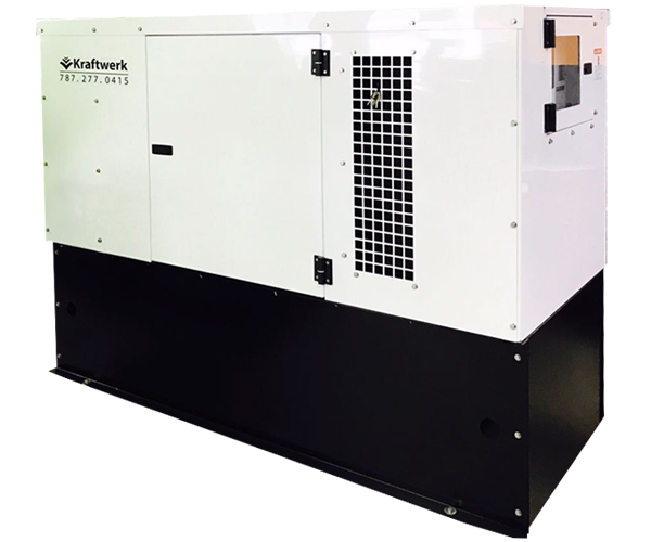 Kraftwerk Industrial - Power: 100Kw to 650Kw· Fuel: Diesel· Low Noise Levels.· Rugged 4 Cycle Perkins Engine.· Integrated Fuel Tank.· Low Fuel Consumption.· Self Protection System.· Compact Design.· Easy Maintenance.· Operator Friendly.Download 100-150Kw PDF>Download 175-300Kw PDF>Download 350-400Kw PDF>Download 450-500Kw PDF>Download 550-600Kw PDF>Request Service>Request Parts>