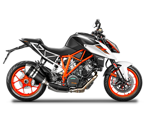 Super Duke 1290 R - · Engine: 1290cc· 177HP· Liquid Cooled· 6-Speed Transmission· Colors: White or BlackRequest Parts>Request Service>