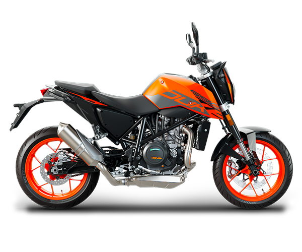 Duke 690 - · Engine: 690cc· 73HP· Liquid Cooled· 6-Speed Transmission· Colors: OrangeRequest Parts>Request Service>