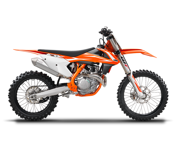 450 SX-F - · Engine: 450cc· 62HP· Lightweight· 4-Speed Transmission· Colors: OrangeRequest Parts>Request Service>