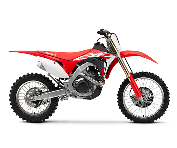 CRF 450R - · Engine: 450cc· Liquid Cooled· Fuel Injection· 5-Speed Transmission· Colors: RedRequest Parts>Request Service>
