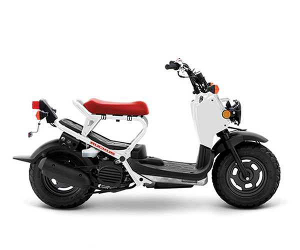 Ruckus - · Engine: 50cc· Liquid Cooled· 114 MPG· Automatic Transmission· Colors: WhiteRequest Parts>Request Service>