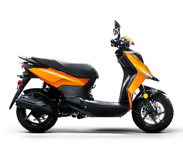 Cabo 50 - · Engine: 50cc· 30 MPH· 117 MPG· Disc Brakes· Knobby Tires· Two Tone Trim Seats· Colors: Red, Orange or BlueRequest Parts>Request Service>
