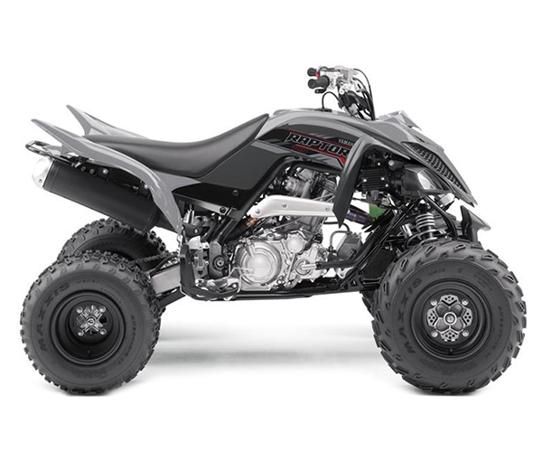 Raptor 700cc - · Engine: 700cc· Liquid Cooled· LED Front Lights· 5-speed w/reverse· Disc Brakes· Colors: GreyRequest Parts>Request Service>