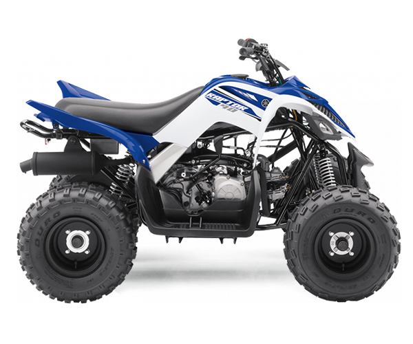 Raptor 700cc R - · Engine: 700cc· Liquid Cooled· LED Front Lights· 5-speed w/reverse· Disc Brakes· Colors: White/BlueRequest Parts>Request Service>