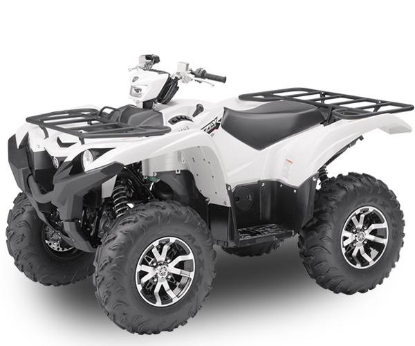 Grizzly - · Engine: 708cc· Liquid Cooled· Fuel Injection· 2wd, 4wd & Locked 4wd· Dual Hydraulic Disc Break· Colors: Black or WhiteRequest Parts>Request Service>