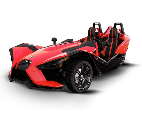 Polaris Slingshot SL - · Street Legal· Engine: 2.4L DOHC· 173HP· LED Lights· Wheels: 18'' Front & 20'' Rear· Colors: Red Or NavyRequest Parts>Request Service>