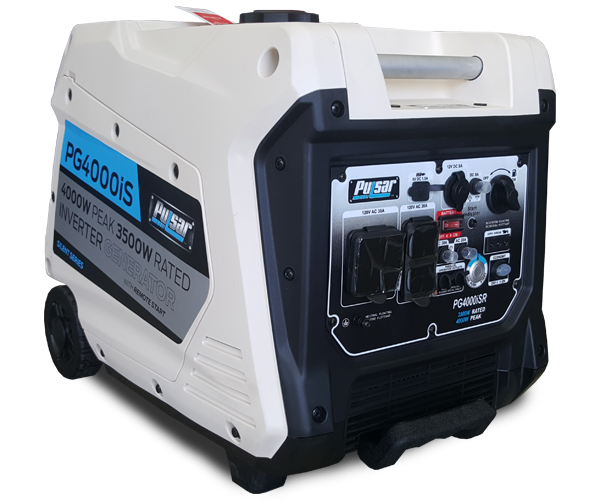 4,000 Watts - · Inverter Gasoline Engine· Manual StartDownload PDF>Request Service>Request Parts>
