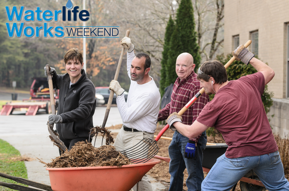 400+ volunteers working in 25 different locations in 2 days. 8 public schools had their spring landscaping done! - Click here for more Waterlife Works highlights